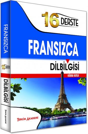 16 Derste Fransızca Dil Bilgisi