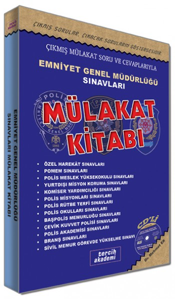 Emniyet Genel Müdürlüğü Sınavları Mülakat Kitabı