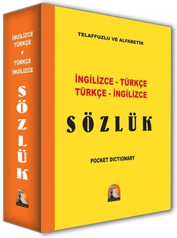 İngilizce - Türkçe , Türkçe - İngilizce Sözlük Orta Boy