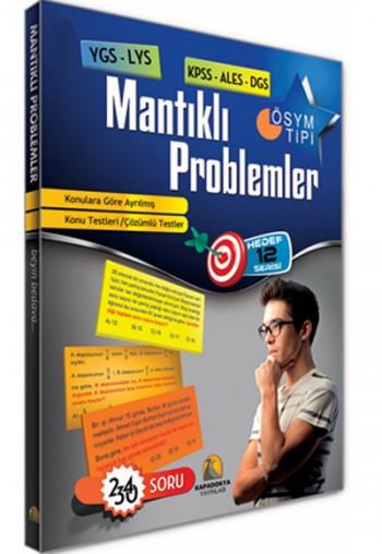 KPSS ALES DGS YGS LYS Mantıklı Problemler Kapadokya Yayınları