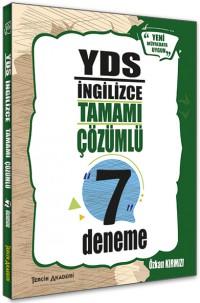 YDS 7li Deneme Tamamı Çözümlü