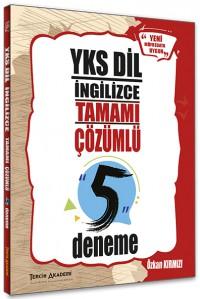 YKS Dil 5 Deneme Tamamı Çözümlü